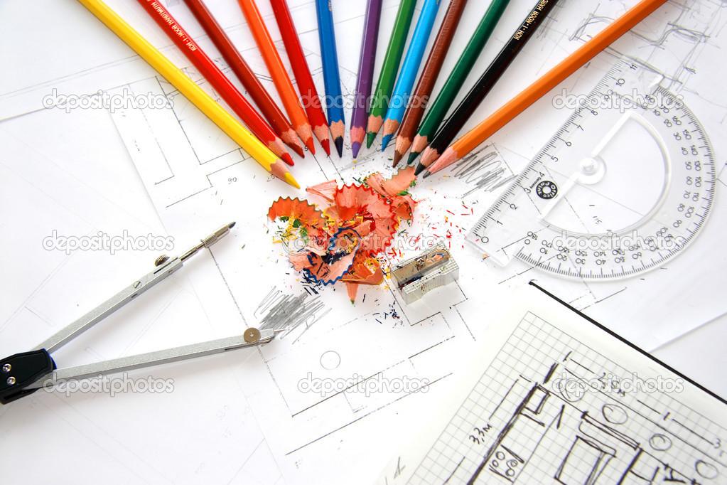 Workplace of designer interior: www.progressisge-emploi.fr/le-design-pour-se-differencier-et...